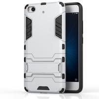 Defender odolný obal na mobil Xiaomi Mi5s - stříbrný