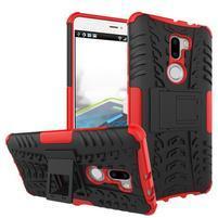 Outdoor odolný obal 2v1 na mobil Xiaomi Mi5s Plus - červený
