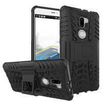 Outdoor odolný obal 2v1 na mobil Xiaomi Mi5s Plus - černý