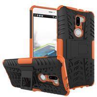 Outdoor odolný obal 2v1 na mobil Xiaomi Mi5s Plus - oranžový