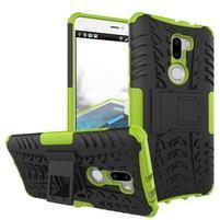 Outdoor odolný obal 2v1 na mobil Xiaomi Mi5s Plus - zelený
