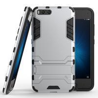 Defender odolný obal na mobil Xiaomi Mi6 - stříbrný