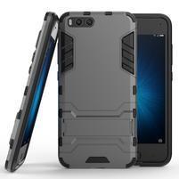Defender odolný obal na mobil Xiaomi Mi6 - šedý