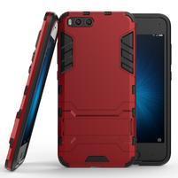 Defender odolný obal na mobil Xiaomi Mi6 - červený