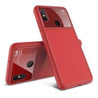 LEN gelový hybridní obal pro Xiaomi Mi 8 - červený