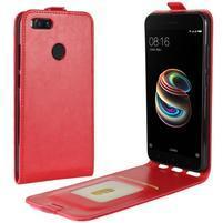 Flipové pouzdro na mobil Xiaomi Mi A1 - červené