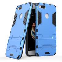 Defender odolný obal se stojánkem na Xiaomi Mi A1 - modrý