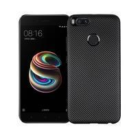 Soft texture gelový obal na Xiaomi Mi A1 - černý