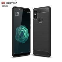 Carb odolný silikonový obal na Xiaomi Mi A2 - černý