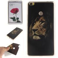 Softies gelový obal na mobil Xiaomi Mi Max - král zvířat