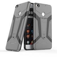 Kick hybridní odolný obal na Xiaomi Mi Max 2 - šedý