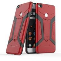 Kick hybridní odolný obal na Xiaomi Mi Max 2 - červený