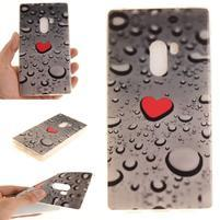 Emotive gelový obal na mobil Xiaomi Mi Mix - srdce