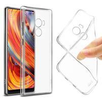 Ultratenký gelový obal na Xiaomi Mi Mix 2 - transparentní