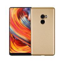 Texture gelový obal na Xiaomi Mi Mix 2 - zlatý
