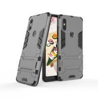 Guard odolný hybridní obal pro mobil Xiaomi Mi Mix 2s - šedý