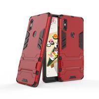Guard odolný hybridní obal pro mobil Xiaomi Mi Mix 2s - červený