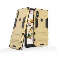 Guard odolný hybridní obal pro mobil Xiaomi Mi Mix 2s - zlatý