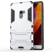 Defender odolný obal na mobil Xiaomi Mi Mix - stříbrný
