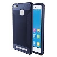 Carbon odolný gelový obal na Xiaomi Redmi 3s a 3Pro - modrý