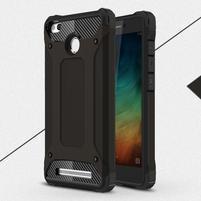 Guard odolný obal 2v1 na mobil Xiaomi Redmi 3S - černý