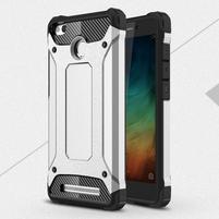 Guard odolný obal 2v1 na mobil Xiaomi Redmi 3S - šedý