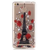 Emotive gelový obal na mobil Xiaomi Redmi 3S - Eiffelova věž