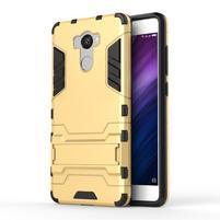 Defender odolný obal na mobil Xiaomi Redmi 4 - zlatý