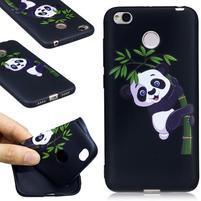 Motive gelový obal na Xiaomi Redmi 4X - panda na bambusu