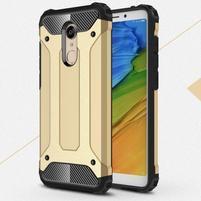 Armory hybridní odolný obal na Xiaomi Redmi 5 - zlatý