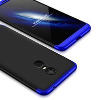 Geko odolný plastový obal na Xiaomi Redmi 5 Plus - černý/modrý
