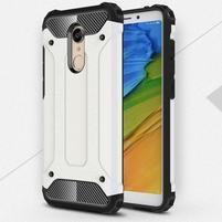 Armory odolný hybridní obal na Xiaomi Redmi 5 Plus - bílý