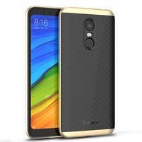IPK hybridní odolný obal na Xiaomi Redmi 5 Plus - zlatý
