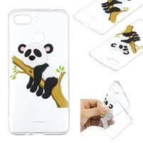 Print gelový obal na mobil Xiaomi Redmi 6 - panda na větvi 3f0a7227272
