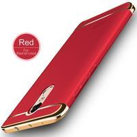 Hybridní 3v1 odolný obal na Xiaomi Redmi Note 4X - červený