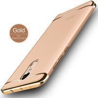 Hybridní 3v1 odolný obal na Xiaomi Redmi Note 4X - zlatý