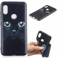 Patt gelový obal na mobil Xiaomi Redmi Note 6 Pro - kočka