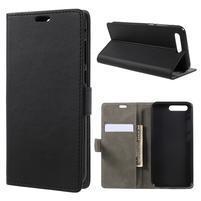 Standy PU kožené pouzdro na Asus Zenfone 4 Pro ZS551KL - černé
