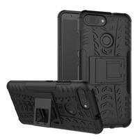 Outdoor odolný obal s výklopným stojánkem na Asus Zenfone Max Plus (M1) ZB570TL - černý