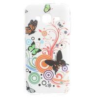 Miells gelový obal na mobil Samsung Galaxy J3 (2016) - motýlkové