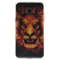 Janes gelový obal na mobil Samsung Galaxy J3 (2016) - lion