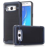 GX9 odolný hybridní obal 2v1 na Samsung Galaxy J5 (2016) - tmavěmodrý