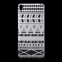 Ultratenký gelový obal na Sony Xperia E5 - geo tvary