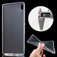 Ultratenký gelový obal na mobil Sony Xperia XA Ultra - transparentní