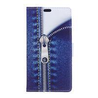 Pattern PU kožené peněženkové pouzdro na mobil Motorola One Vision / P40 - zip
