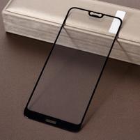 Celoplošné tvrzené sklo pro mobil Nokia 7.1 - černý lem