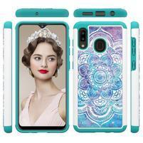 Patterned odolný obal na mobil Samsung Galaxy A20 / Galaxy A30 - barevné květy