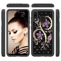 Patterned odolný obal na mobil Samsung Galaxy A20 / Galaxy A30 - květy