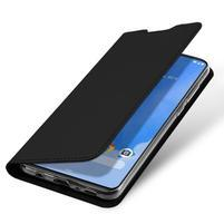 DUX luxusní PU kožené pouzdro na Samsung Galaxy A70 - černé