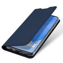 DUX luxusní PU kožené pouzdro na Samsung Galaxy A70 - tmavěmodré